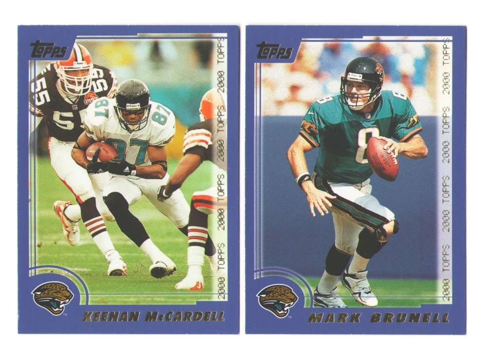 2000 Topps Football Team Set - JACKSONVILLE JAGUARS