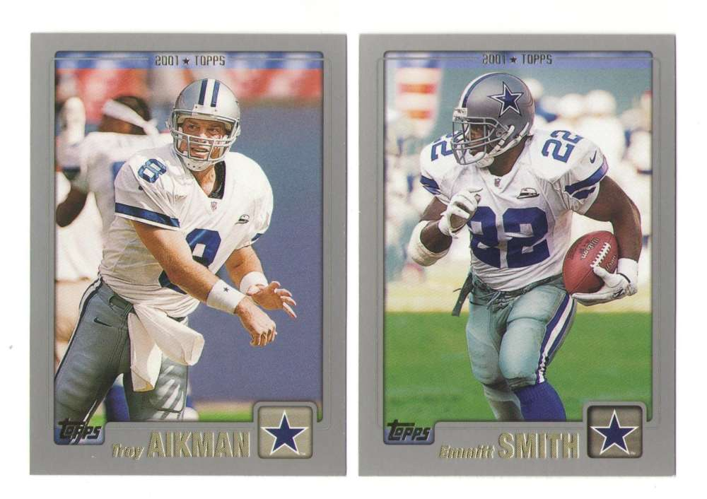 2001 Topps Football Team Set - DALLAS COWBOYS