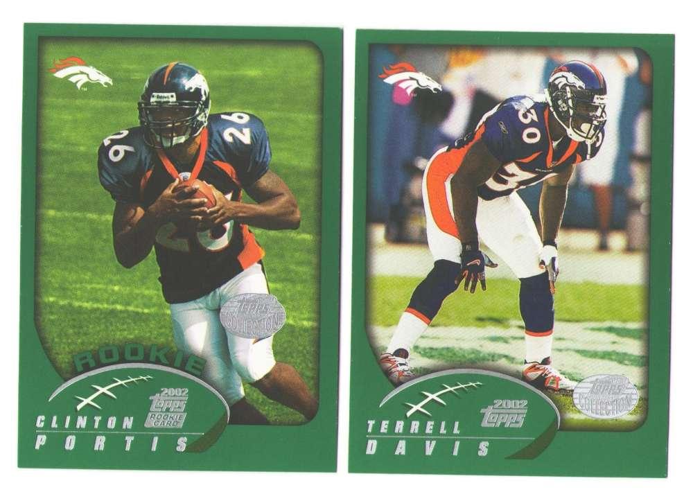 2002 Topps Collection Football Team Set - Denver Broncos