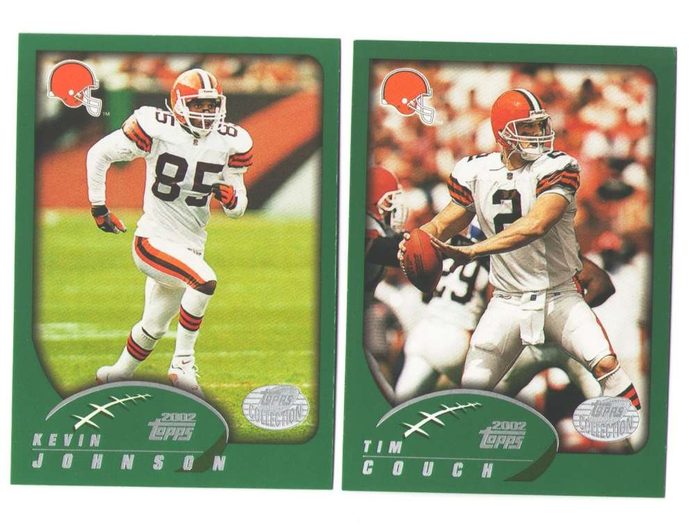 2002 Topps Collection Football Team Set - CLEVELAND BROWNS