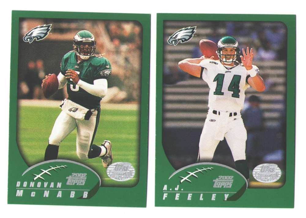 2002 Topps Collection Football Team Set - PHILADELPHIA EAGLES