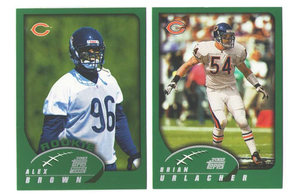 2002 Topps Football Team Set - CHICAGO BEARS