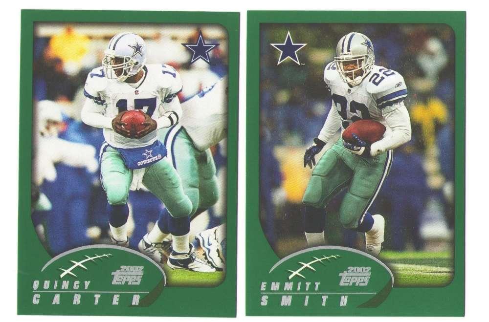 2002 Topps Football Team Set - Dallas Cowboys