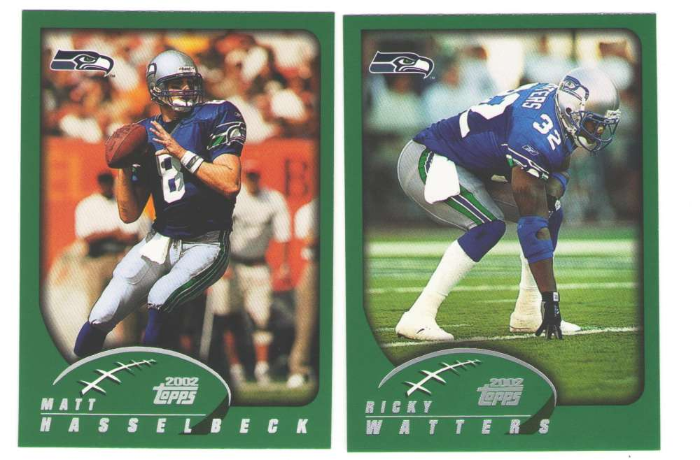 2002 Topps Football Team Set - SEATTLE SEAHAWKS