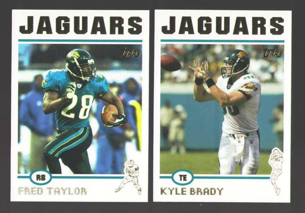 2004 Topps Football Team Set - JACKSONVILLE JAGUARS