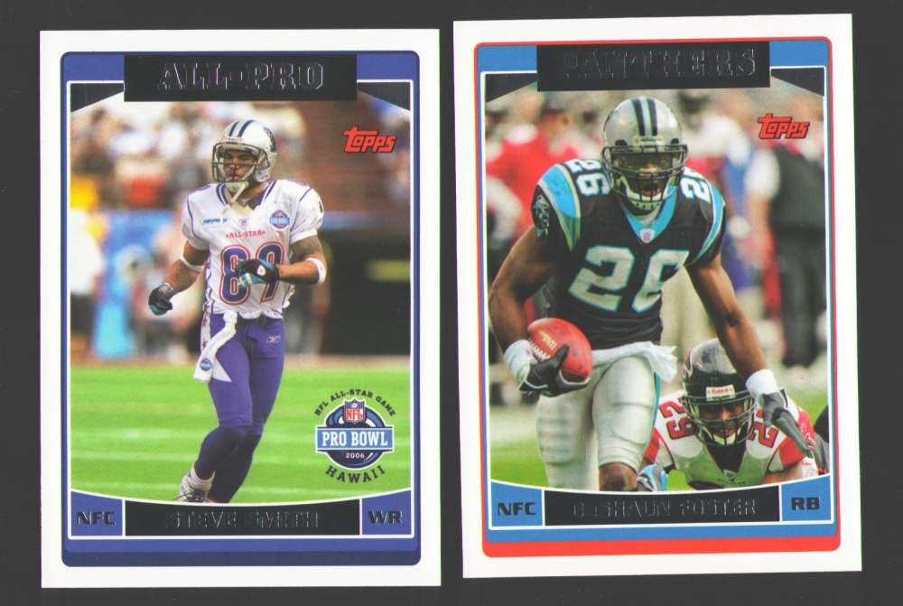 2006 Topps Football Team Set - Carolina Panthers