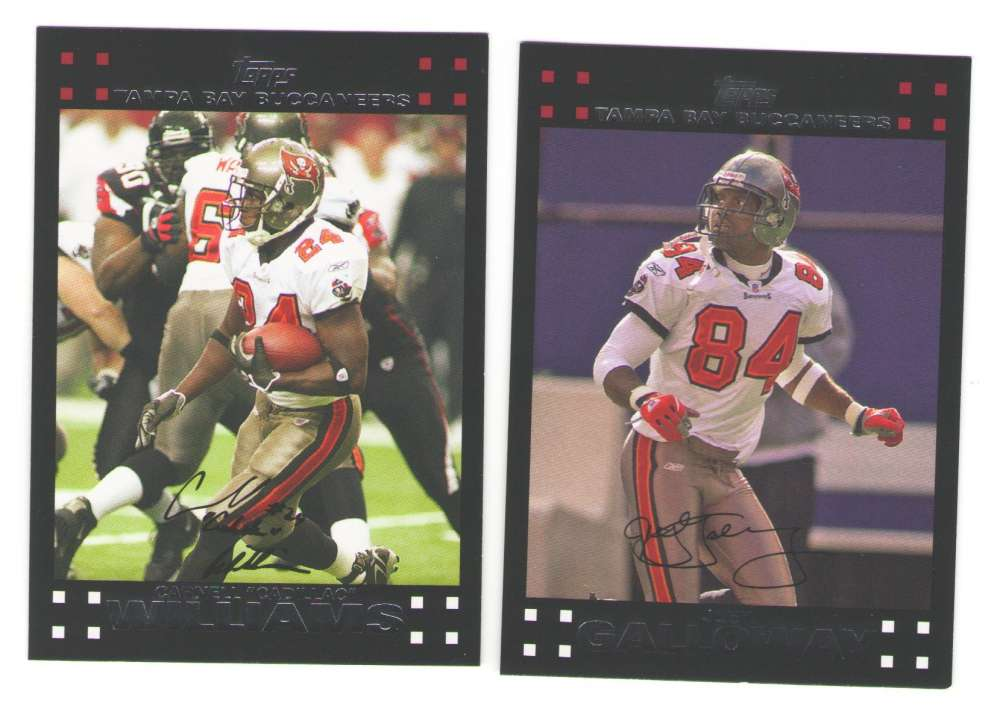 2007 Topps Football Team Set - TAMPA BAY BUCCANEERS