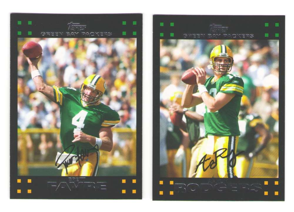 2007 Topps Football Team Set - GREEN BAY PACKERS