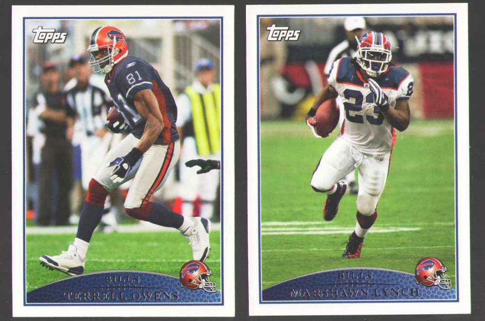 2009 Topps Football Team Set - BUFFALO BILLS