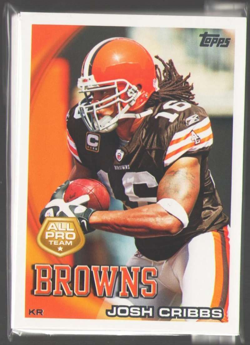 2010 Topps Football Team Set - CLEVELAND BROWNS