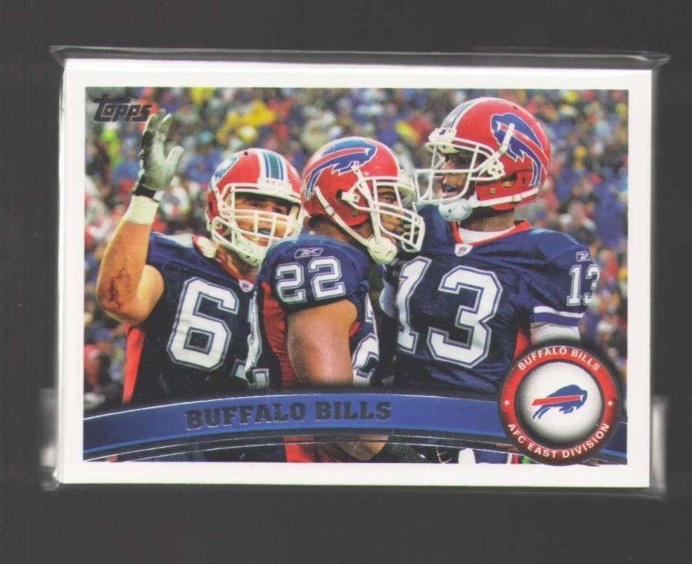 2011 Topps Football Team Set Buffalo Bills - 11 Cards
