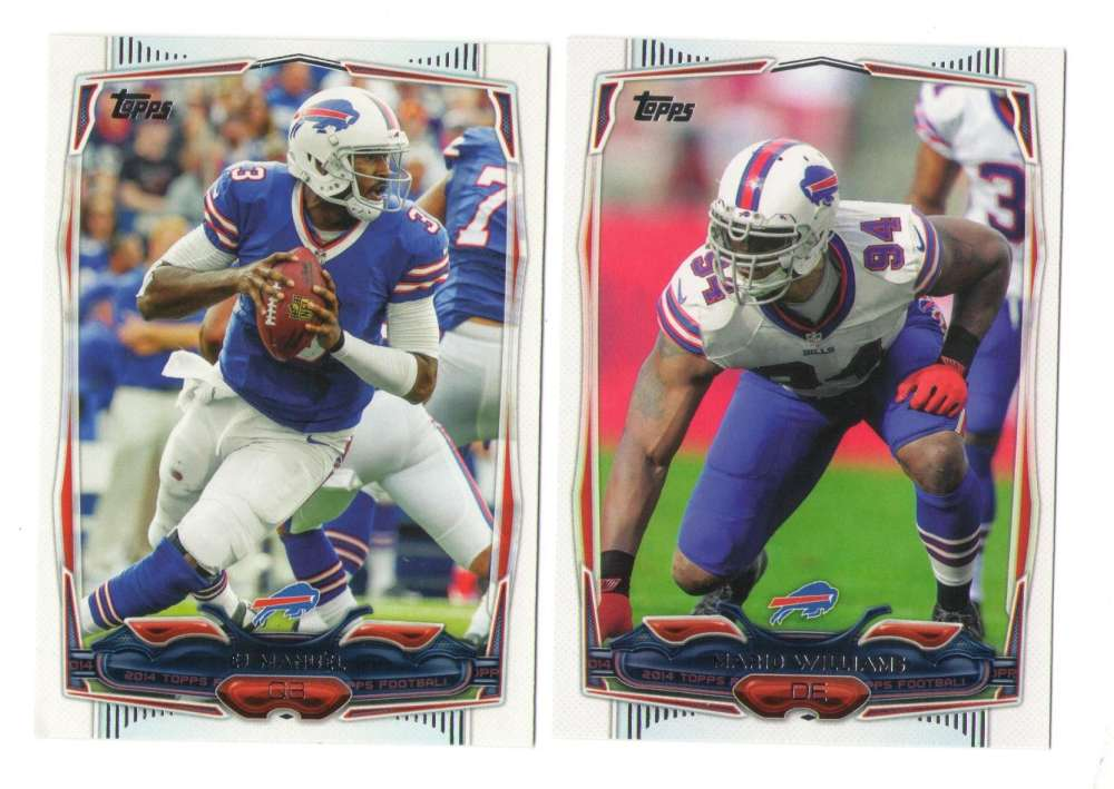2014 Topps Football Team Set - BUFFALO BILLS