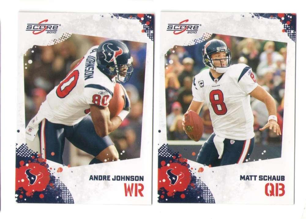 2010 Score Football Team Set - HOUSTON TEXANS