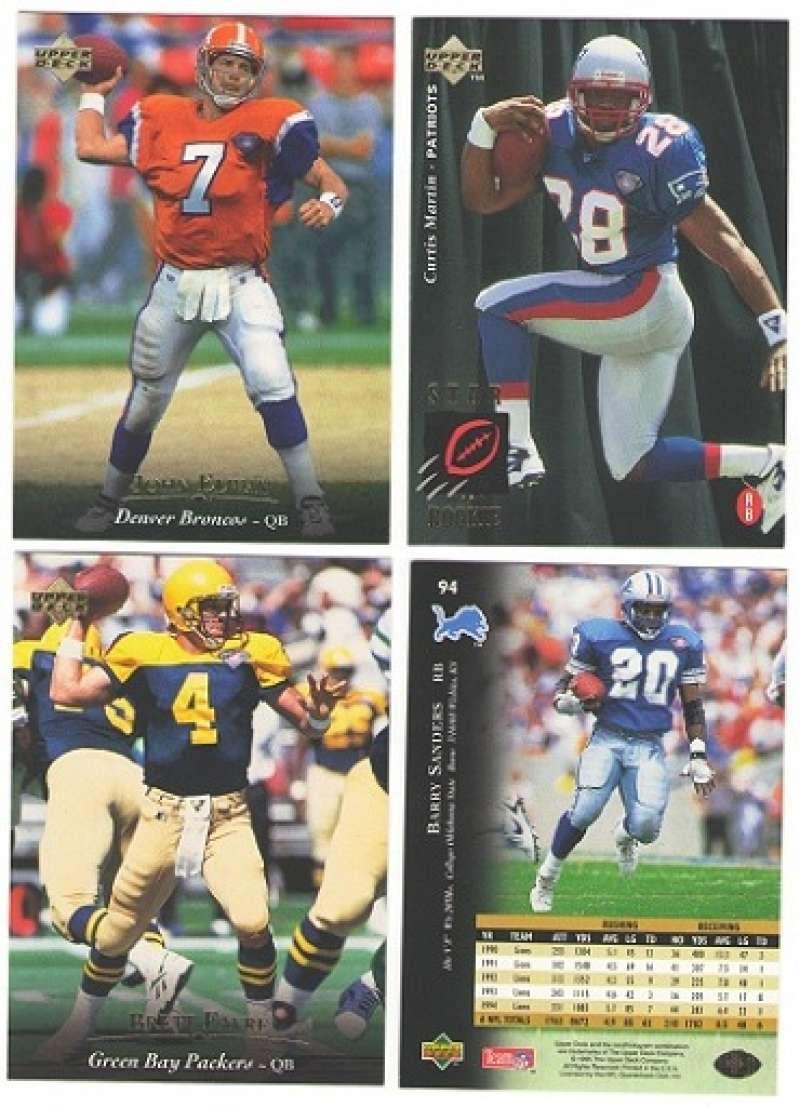 1995 Upper Deck Football Team Set - CHICAGO BEARS
