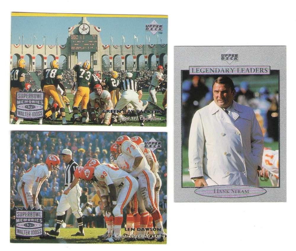1997 Upper Deck Legends Football Team Set - KANSAS CITY CHIEFS