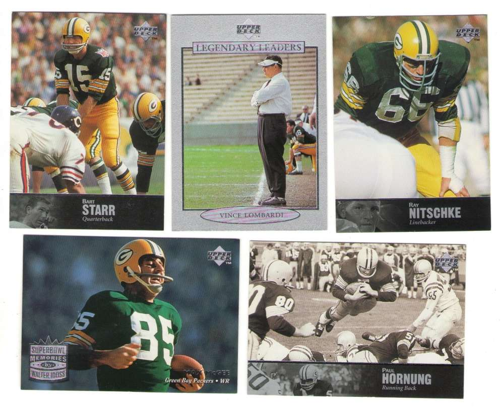 1997 Upper Deck Legends Football Team Set - GREEN BAY PACKERS