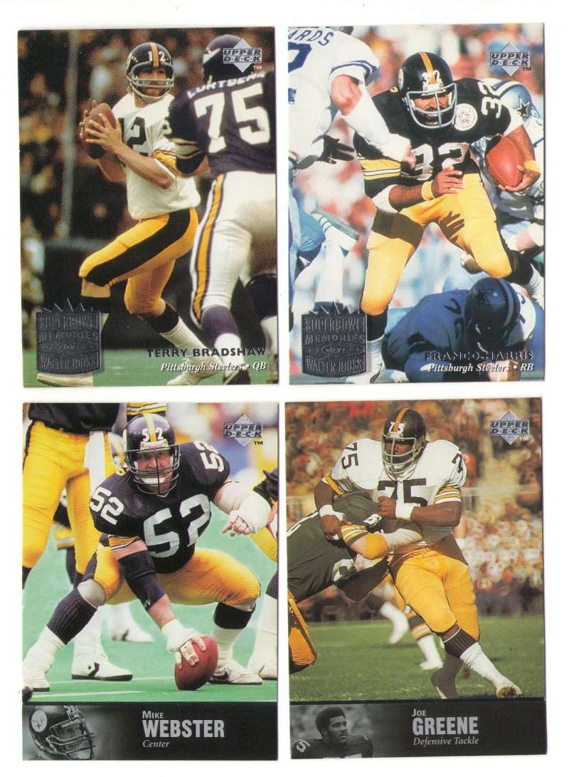 1997 Upper Deck Legends Football Team Set - PITTSBURGH STEELERS
