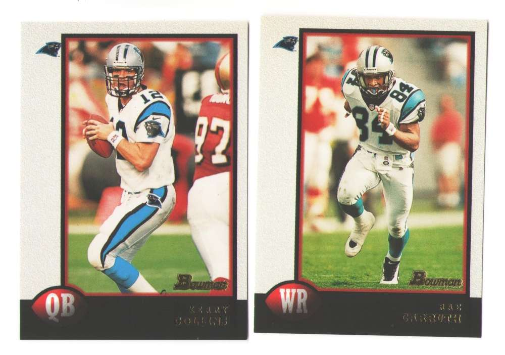 1998 Bowman Football Team Set - CAROLINA PANTHERS