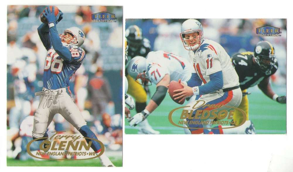 1998 Fleer Tradition Football Team Set - NEW ENGLAND PATRIOTS