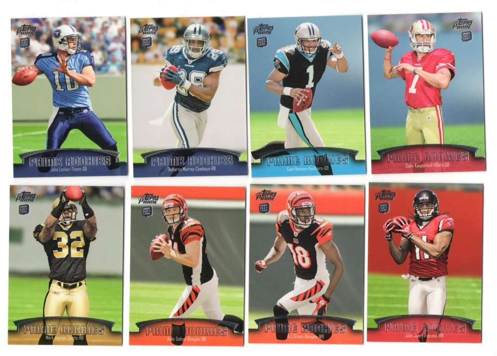 2011 Topps Prime Rookie Football 35 card insert set