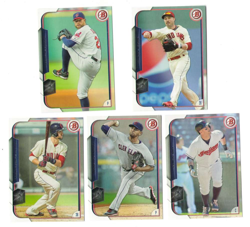 2015 Bowman - CLEVELAND INDIANS Team Set