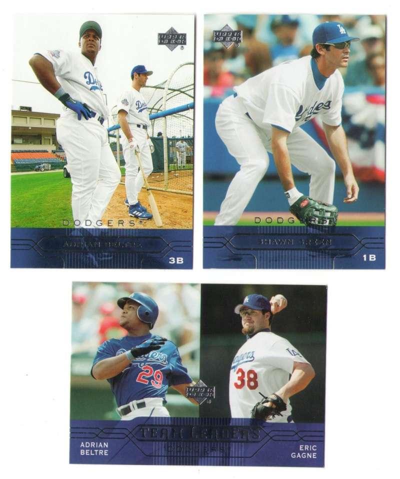 2005 Upper Deck - LOS ANGELES DODGERS Team Set