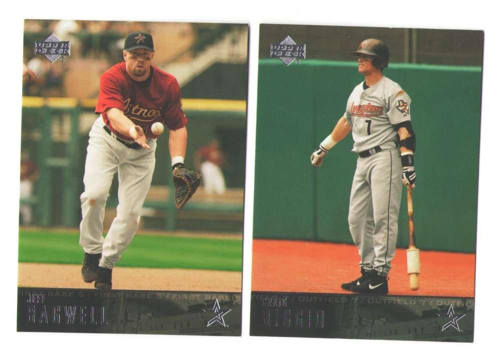 2004 Upper Deck - HOUSTON ASTROS Team Set