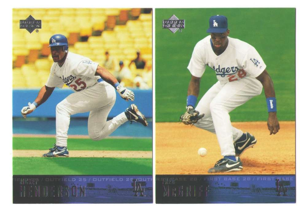 2004 Upper Deck - LOS ANGELES DODGERS Team Set