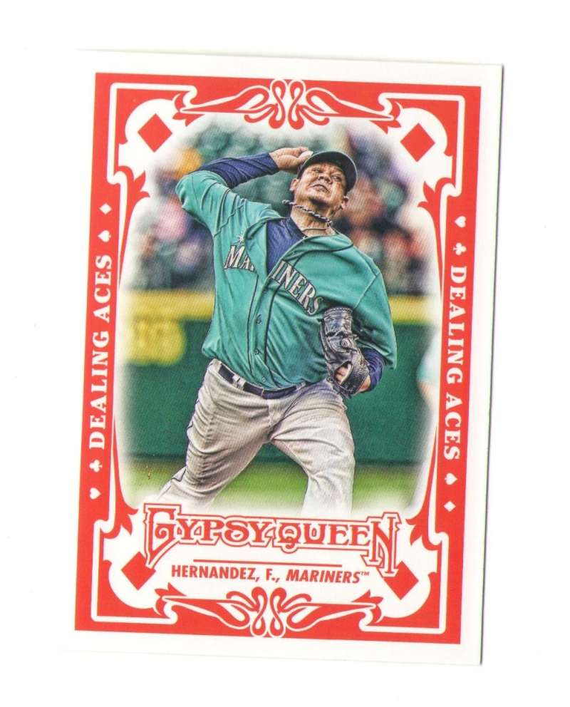 2013 Topps Gypsy Queen Dealing Aces - SEATTLE MARINERS