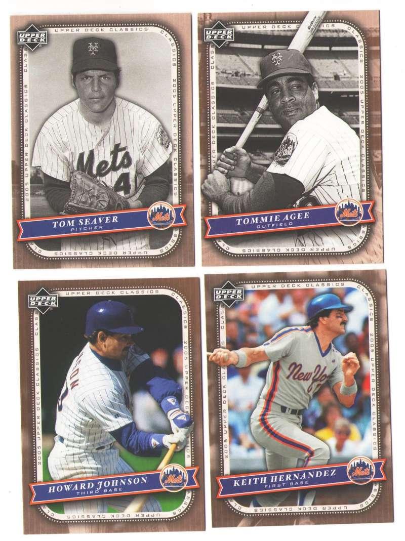 2005 Upper Deck Classics - NEW YORK METS Team Set