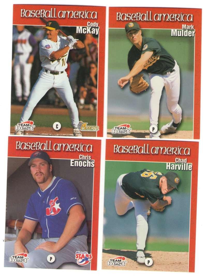 1999 Baseball America - OAKLAND ATHLETICS / A's Team Set