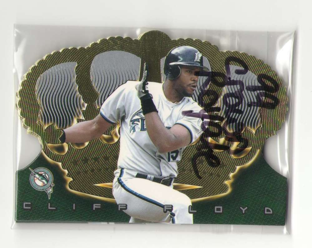 1999 Pacific Crown Royale - FLORIDA MARLINS Team Set