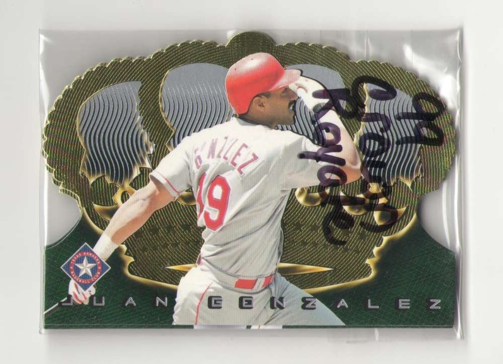 1999 Pacific Crown Royale - TEXAS RANGERS Team Set