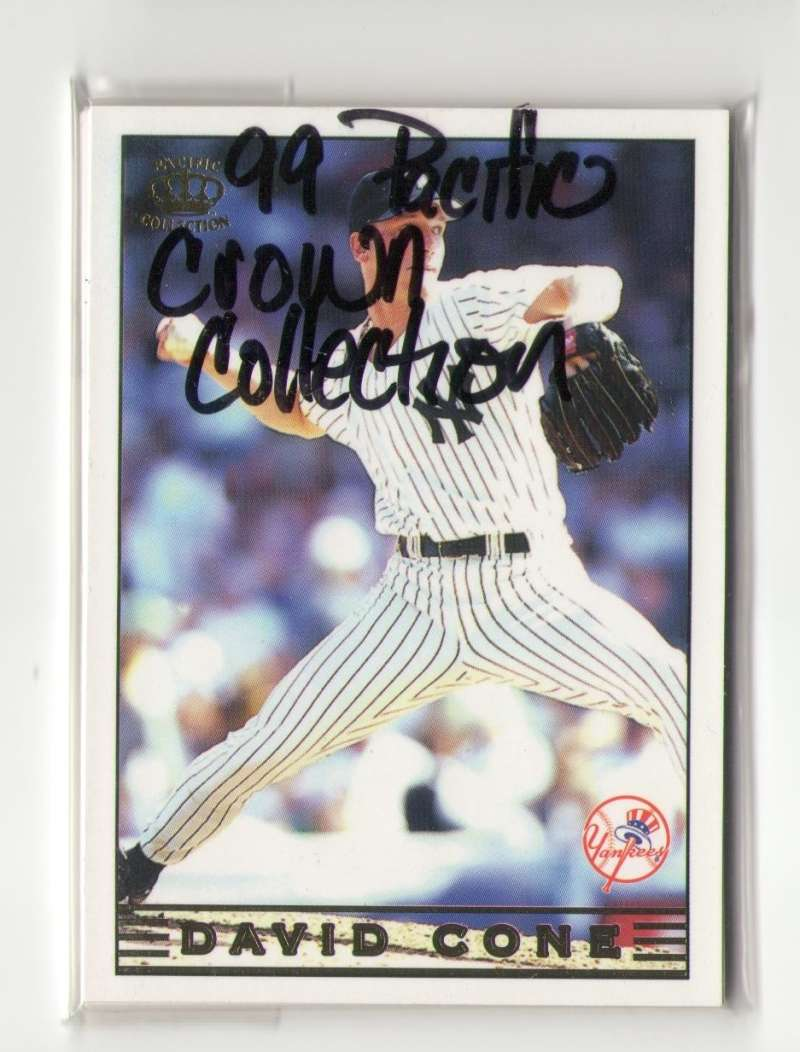 1999 Pacific Crown Collection - NEW YORK YANKEES Team Set