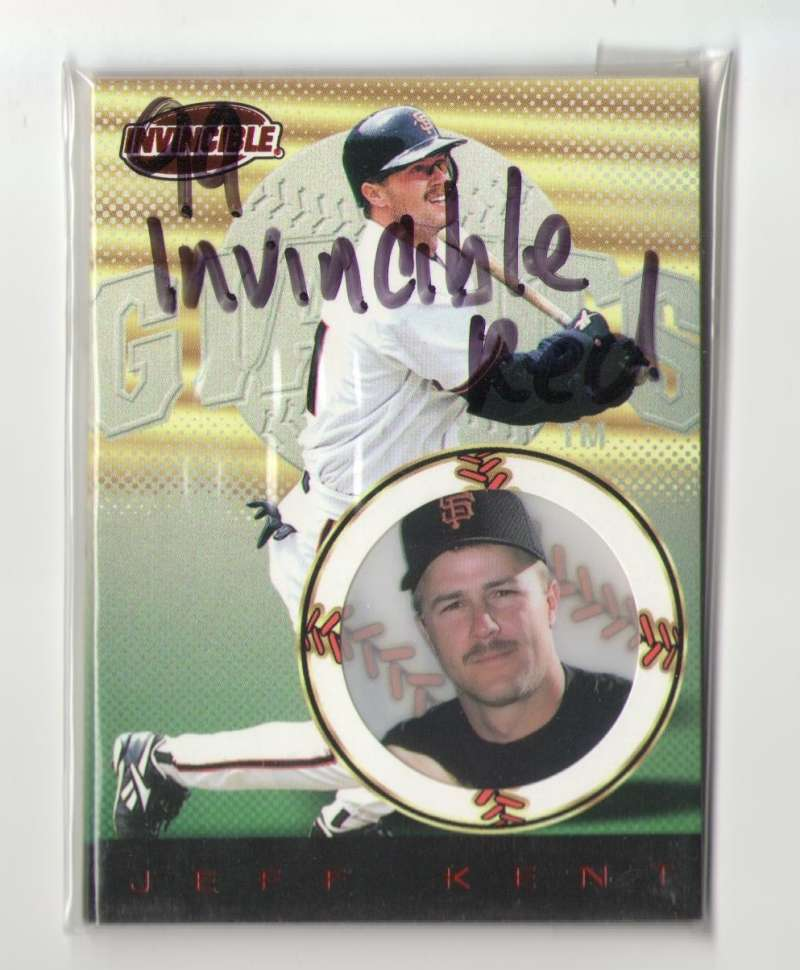 1999 Pacific Invincible Red Retail Parallel - SAN FRANCISCO GIANTS Team Set