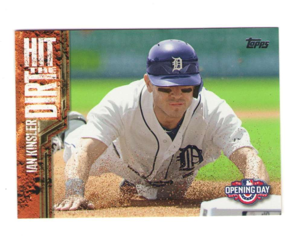 2015 Topps Opening Day Hit the Dirt - DETROIT TIGERS