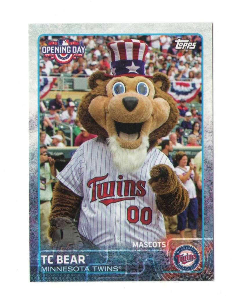 2015 Topps Opening Day Mascots - MINNESOTA TWINS