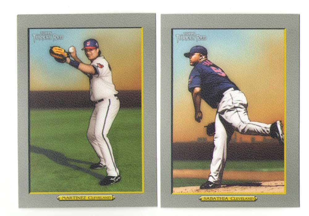 2005 Topps Turkey Red - CLEVELAND INDIANS Team Set