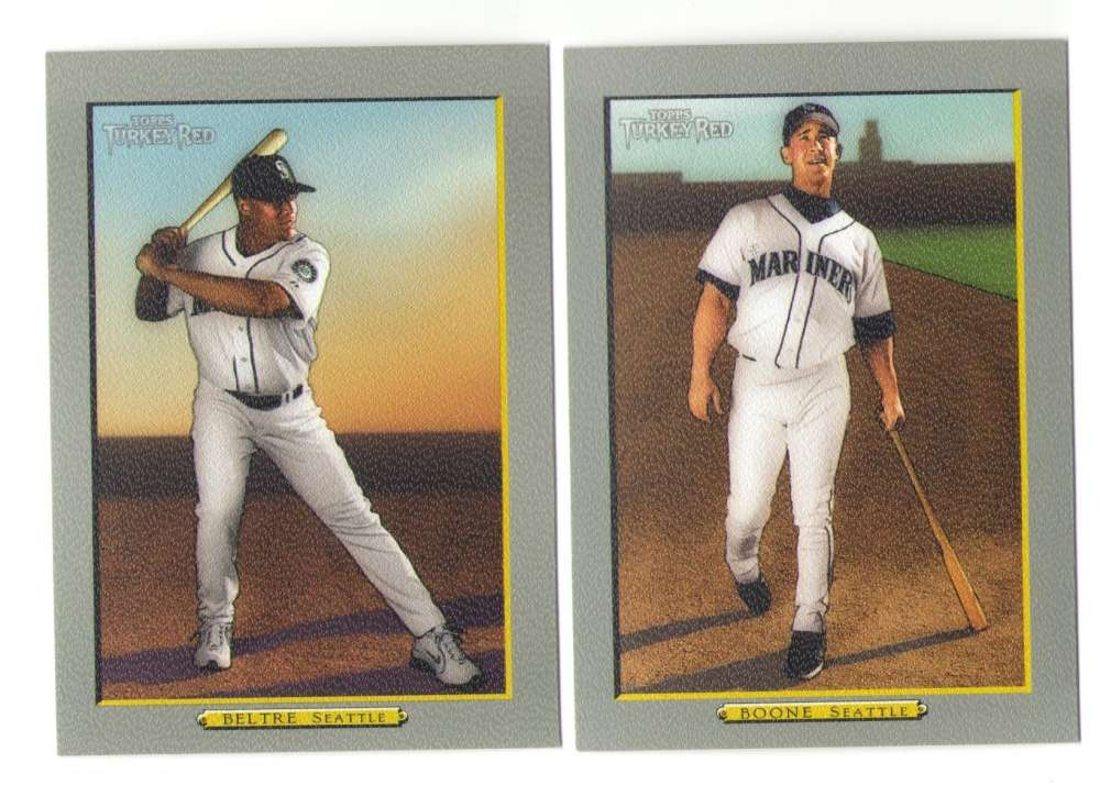 2005 Topps Turkey Red (Base) - SEATTLE MARINERS Team Set