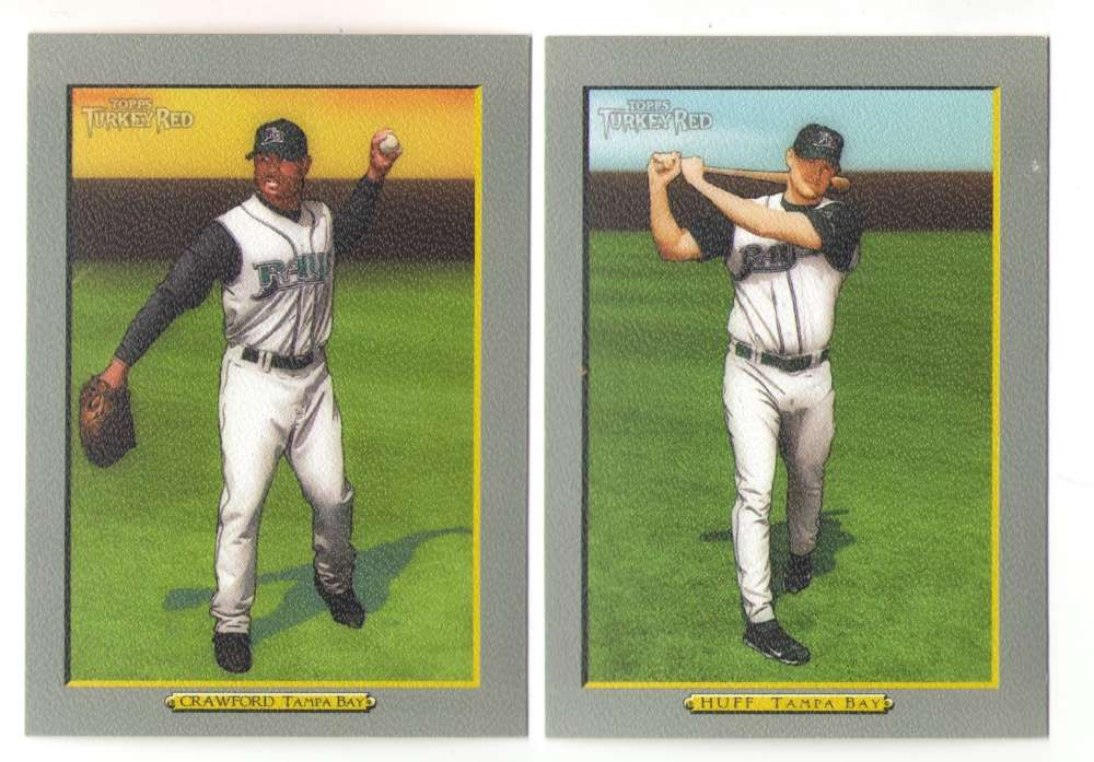 2005 Topps Turkey Red (Base) - TAMPA BAY DEVIL RAYS Team Set