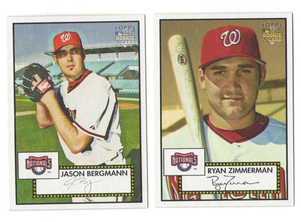 2006 Topps 52 - WASHINGTON NATIONALS Team Set