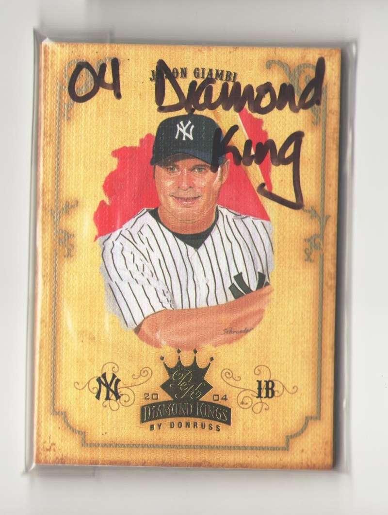 2004 Donruss Diamond Kings (1-150) - NEW YORK YANKEES Team Set