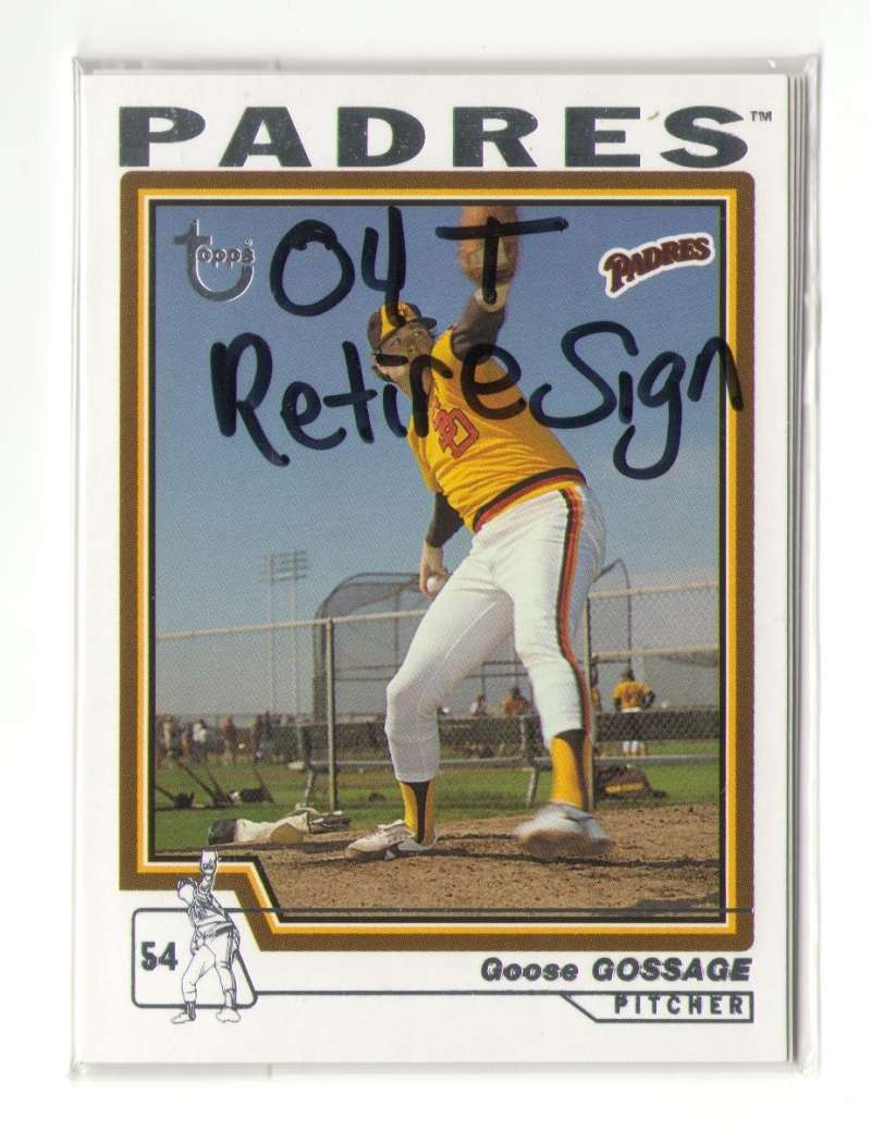 2004 Topps Retired Signature - SAN DIEGO PADRES Team Set