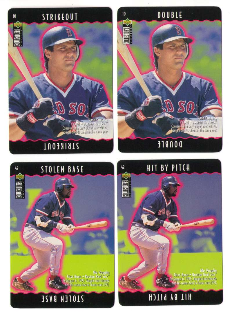 1996 Collectors Choice You Make the Play - BOSTON RED SOX