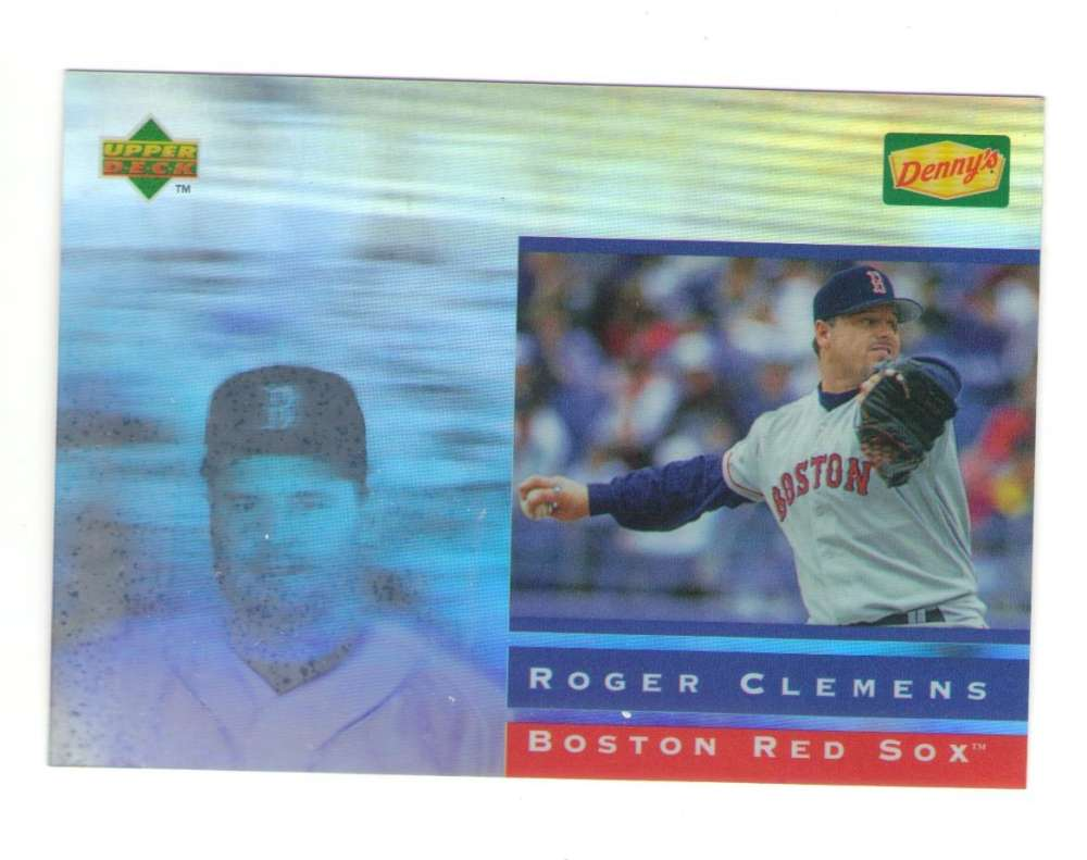 1995 Dennys Holograms - RED SOX