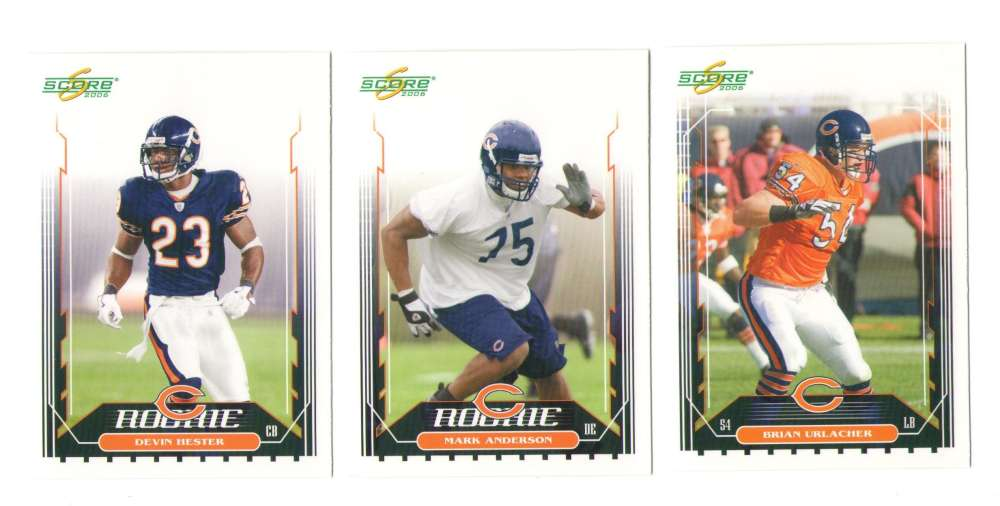 2006 Score Football Team (From Factory set) - CHICAGO BEARS