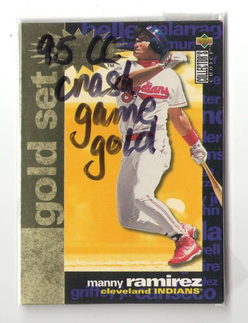 1995 Collectors Choice Crash the Game Gold - CLEVELAND INDIANS