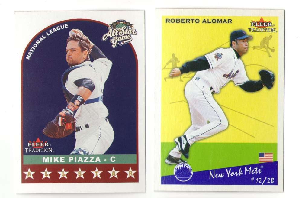 2002 Fleer Tradition Update (Base) - NEW YORK METS Team Set