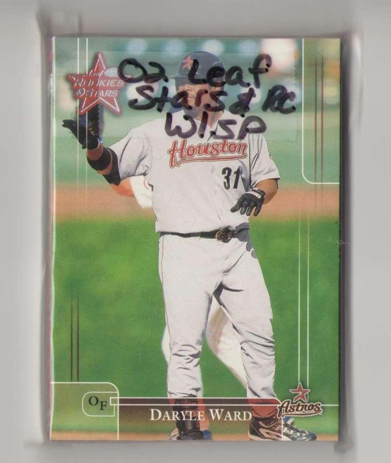 2002 Leaf Rookies and Stars w/ SP's - HOUSTON ASTROS Team Set