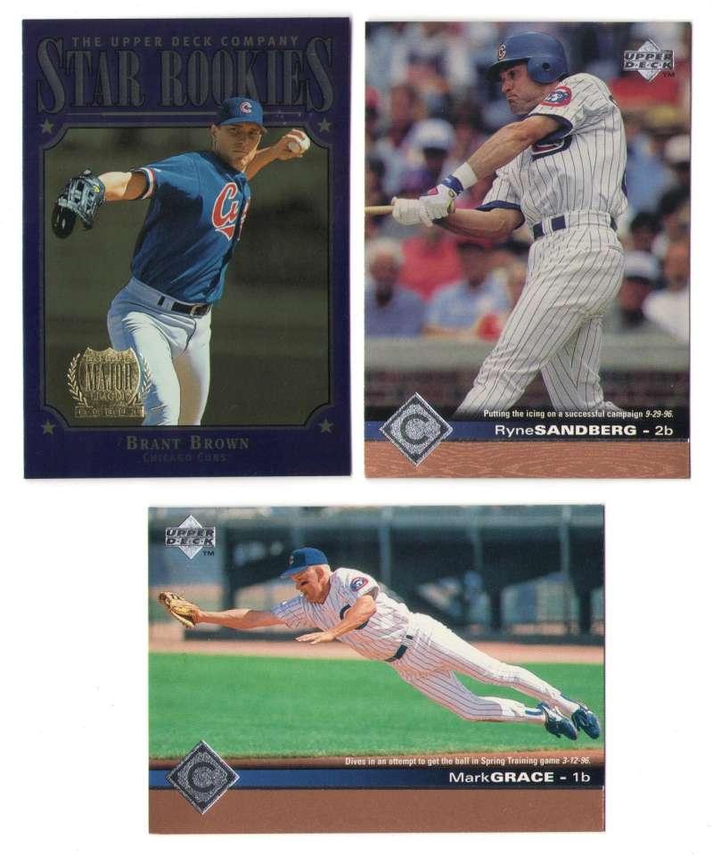 1997 Upper Deck (1-550) - CHICAGO CUBS Team Set